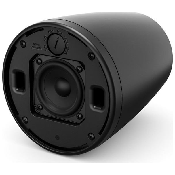 Bose-Pro-FreeSpace-FS2P-Pendant-Mount-Install-Loudspeaker-Pair-Black-No-Grille-One-Front-EMI-Audio