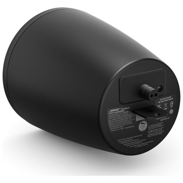 Bose-Pro-FreeSpace-FS2P-Pendant-Mount-Install-Loudspeaker-Pair-Black-No-Grille-One-Back-EMI-Audio