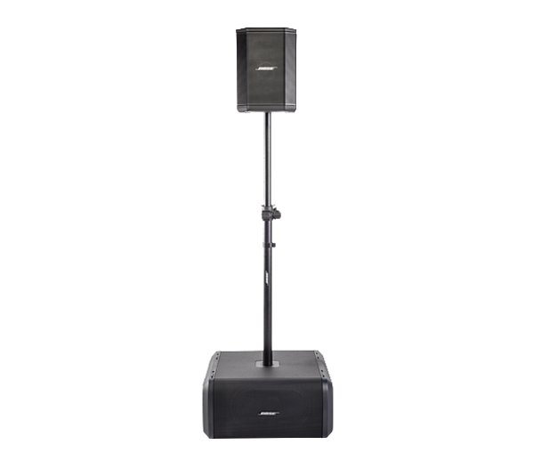 Sub1/Sub2 Adjustable Speaker Pole S-1 and Sub view