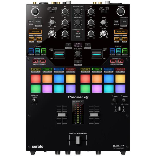 PIONEER-DJM-S7-2-channel-Performance-DJ-Mixer-with-Bluetooth-Capability-for-Rekordbox-and-Serato-DJ-Pro-Top-EMI-Audio
