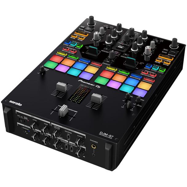 PIONEER-DJM-S7-2-channel-Performance-DJ-Mixer-with-Bluetooth-Capability-for-Rekordbox-and-Serato-DJ-Pro-Angle-EMI-Audio