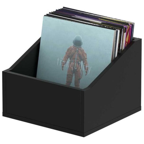 "Glorious-Record-Box-Advanced-110-Black-Slanted-Record-Storage-Box-for-up-to-110-12""-Records-EMI-Audio"