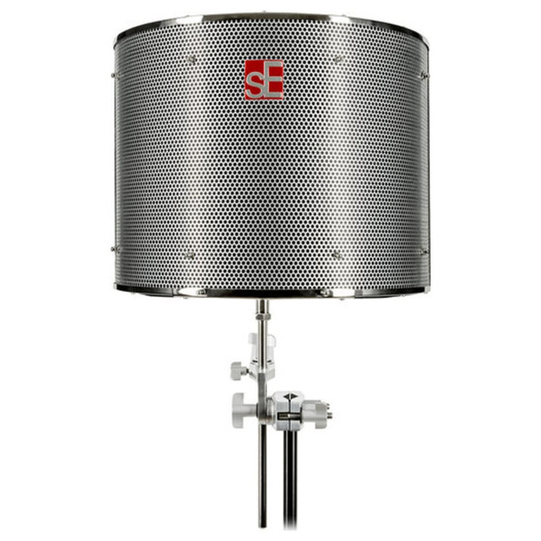 se-eclectronics-rf-pro-refexion-filter-mic-shield-vocals-rap-singing-podcast-vocal-booth-front