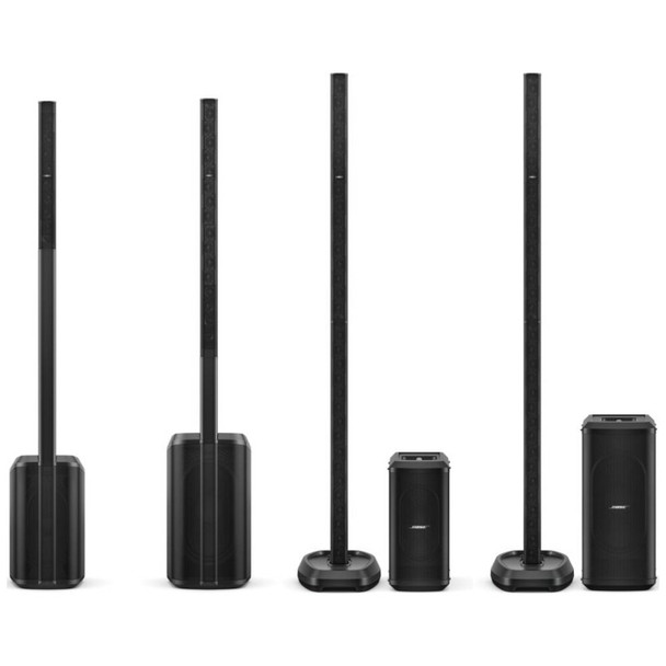 Bose l1 pro family photo emi audio