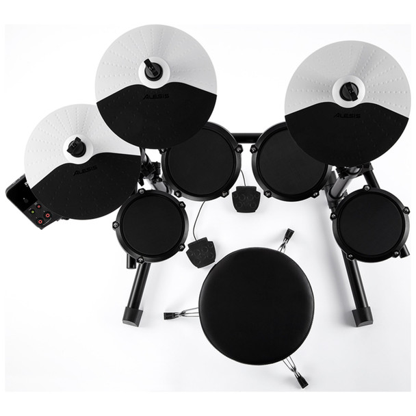 Alesis-Debut-Kit-Beginner-Electronic-Drum-Kit-with-Headphones-and-Learning-Software-Two-EMI-Audio