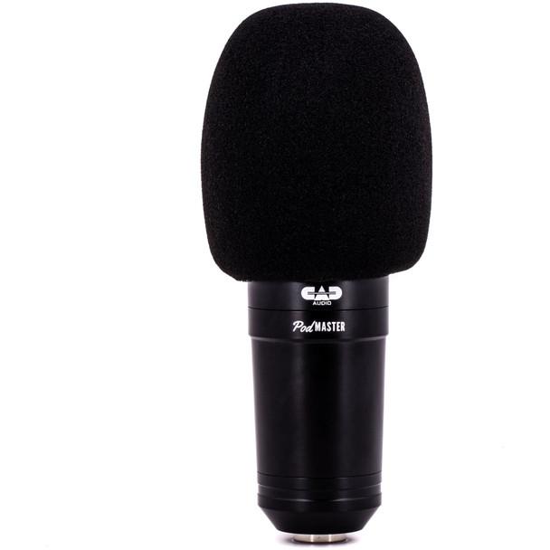 CAD-Audio-Podmaster-SuperD-PM1200-XLR-Studio-Microphone-with-Broadcast-Boom-Windscreen-EMI-Audio