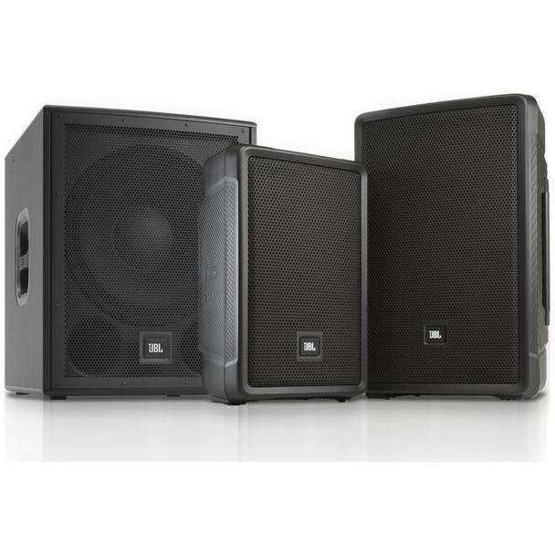 JBL IRX powered speaker family