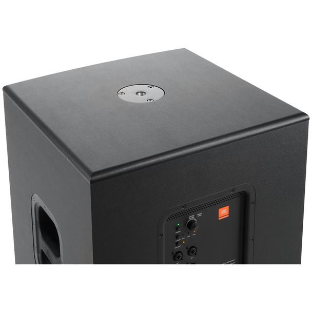 """JBL IRX115S 1300 watt powered 15"""" subwoofer top view"""
