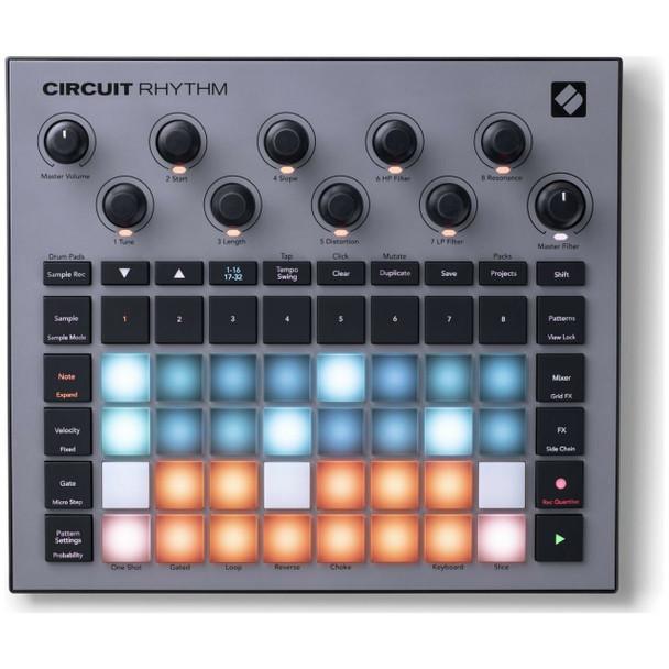 Novation Circuit Rhythm Top View