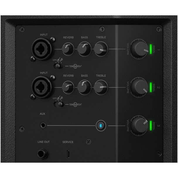 Bose-S1-Pro-Battery-Powered-PA-System-with-Built-In-Mixer-and-Bluetooth-Mixer-Close-Up-Two-EMI-Audio
