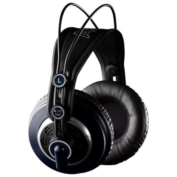 AKG K240 MKII Studio Headphone Detachable Cable Side
