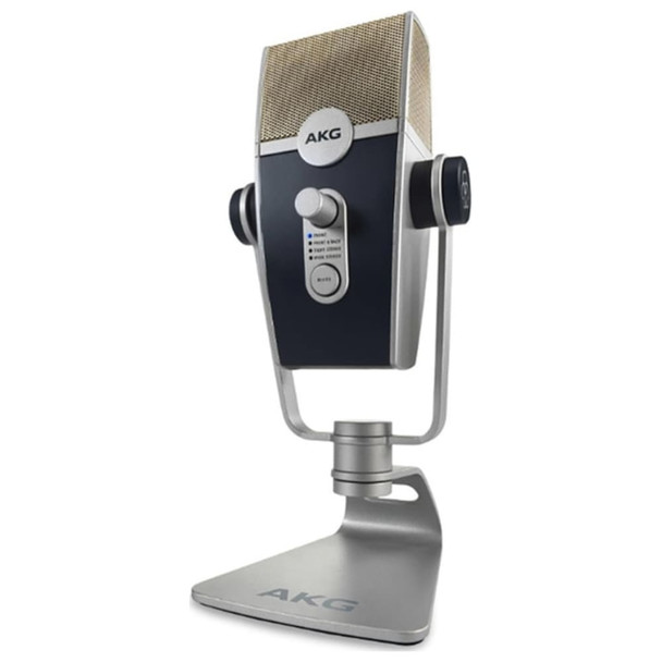 AKG LYRA C44-Retro USB Condenser Microphone Bottom Angle