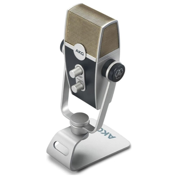 AKG LYRA C44-Retro USB Condenser Microphone Front Angle