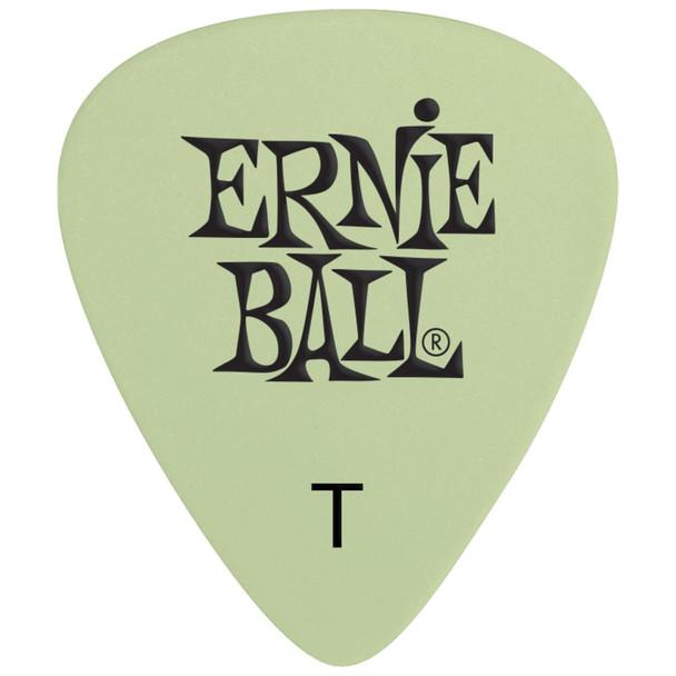 ernie-ball-super-glow-cellulose-thin-picks-pick-top-view
