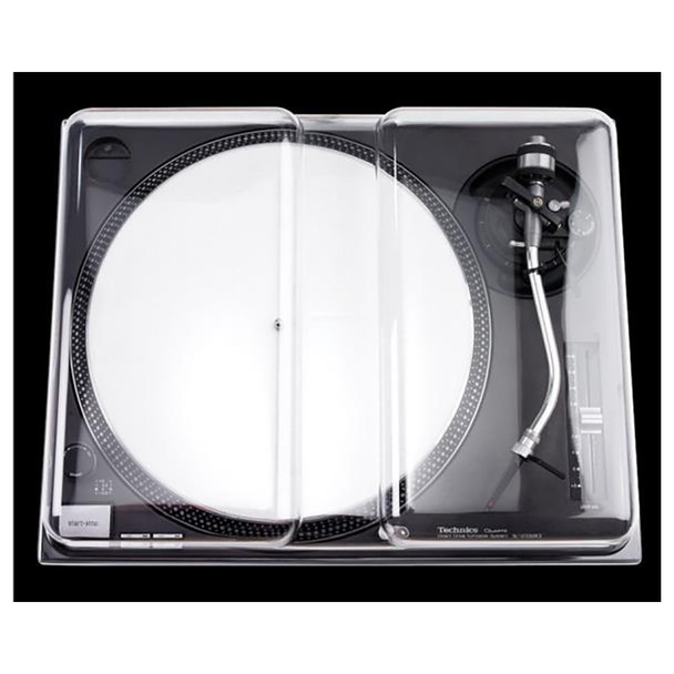 DECKSAVER DS-PC-SL1200 Dust Cover for the SL1200 turntable - Quick Shipping Available
