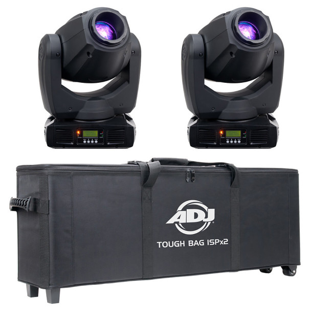 ADJ TOUGH GUY PRO PAK Moving Head Lighting Package with 2x Inno Spot Pro and 1x Tough Bag ISP