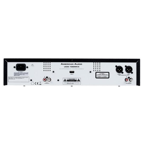 American Audio UCD-100 MKIII 2-Rack CD/MP3 Player