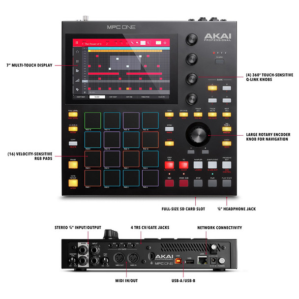 MPC One features