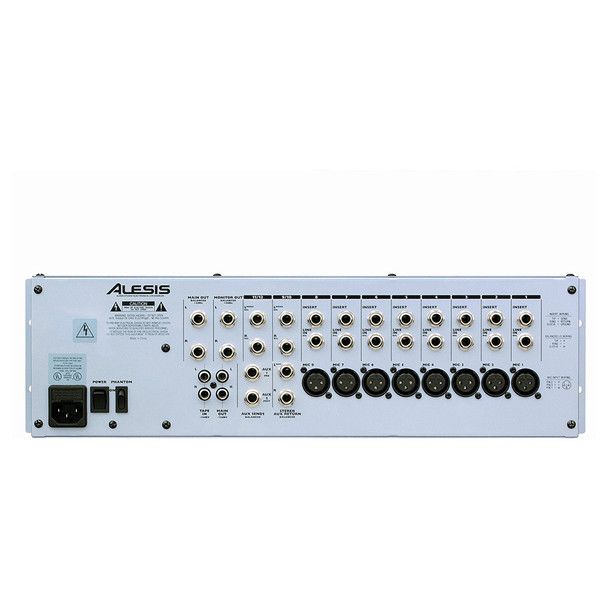 MULTIMIX 12R 12-channel 3RU mixer MULTIMIX 12R 12-channel 3RU mixer back view