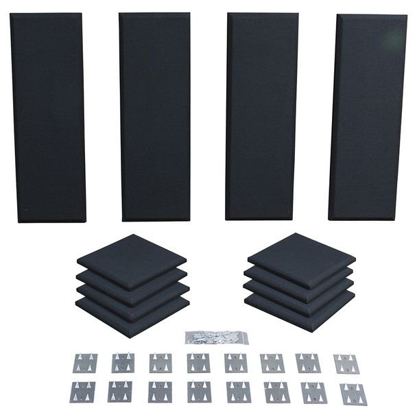 Primacoustic Broadway London 8 acoustic panels in black