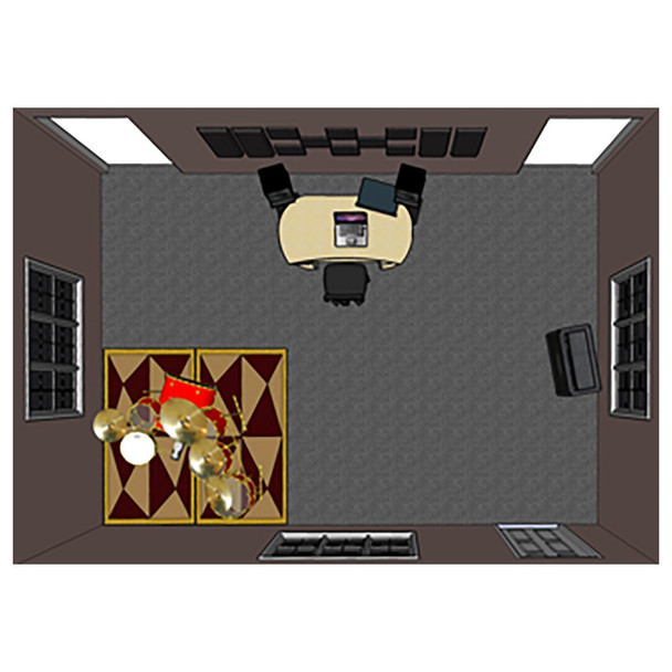 Primacoustic sound panels in home theater