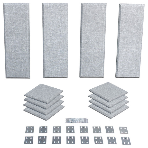 Primacoustic Broadway London 8 acoustic panels in grey