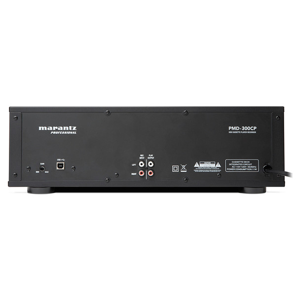 PMD-300CP USB and RCA input / outputs