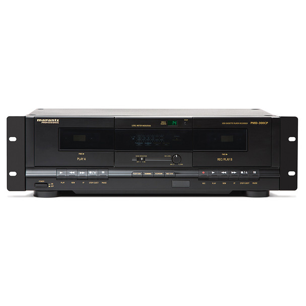 PMD-300CP Front with recording functionality and volume controls