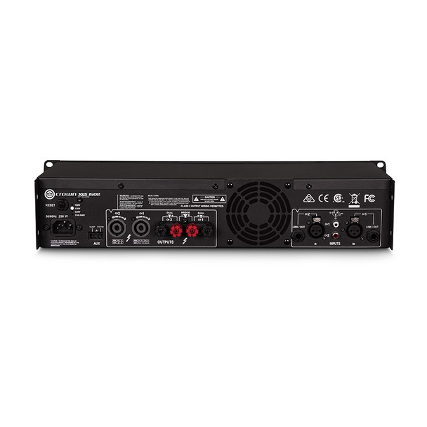 CROWN XLS1502 Two-channel, 525W @ 4Ω Power Amplifier