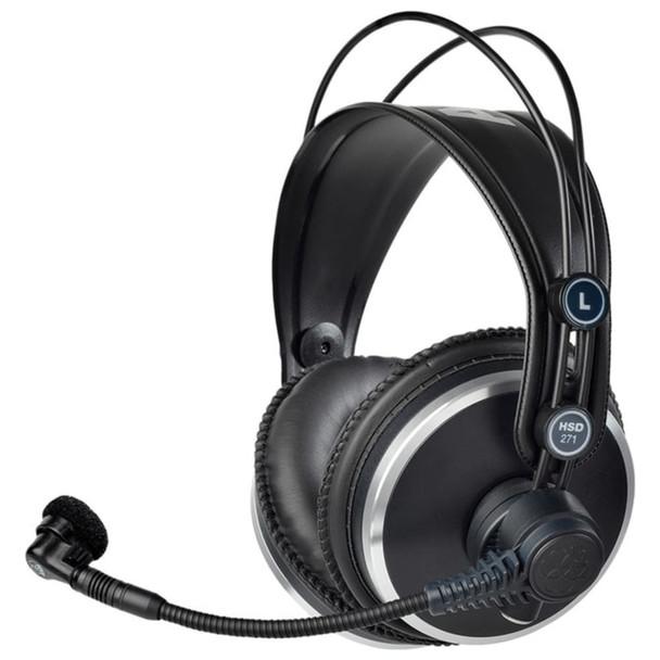 AKG HSD271 Professional over-ear headset Angle