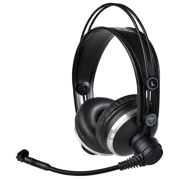 AKG HSC171 Professional on-ear headset Angle