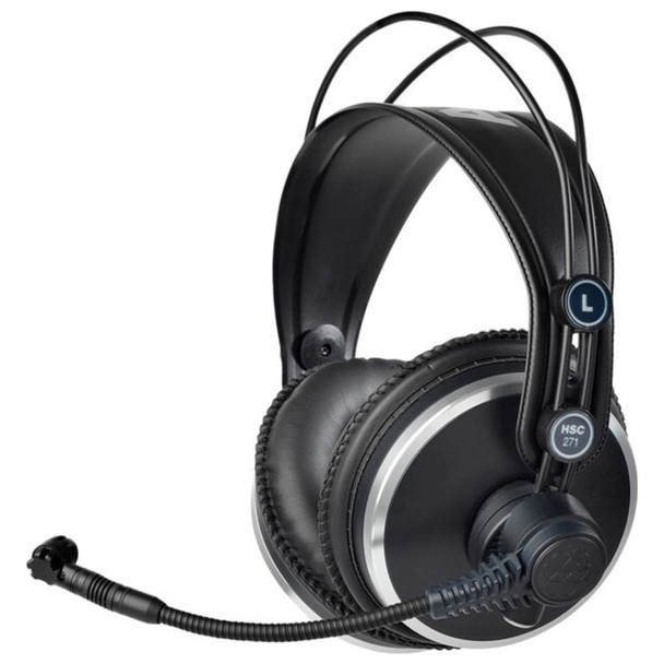 AKG HSC271 Professional over-ear headset Angle