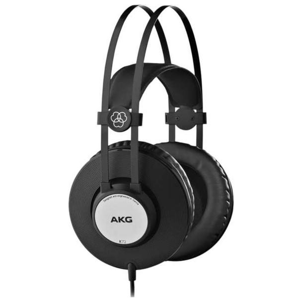 AKG K72 Closed-Back Studio Headphones Side Angle