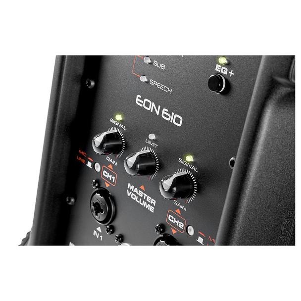 EON610 - Controls Close Up