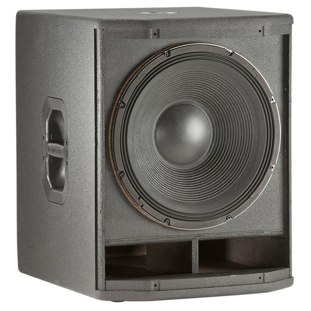 PRX418S subwoofer front view without grill