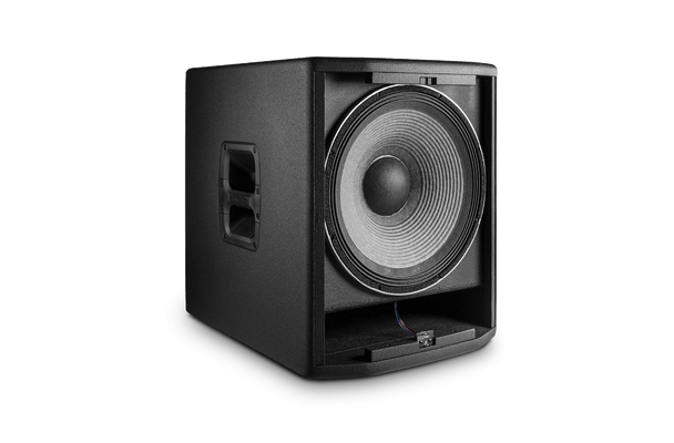 """JBL PRX815XLFW 15"""" Self-Powered Extended Low Frequency Subwoofer System with Wi-Fi front no grille"""