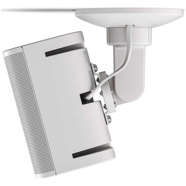 BOSE-Ceiling-Mount-Bracket-S2-for-FS2SE-and-FS4SE-and-works-with-DesignMax-DM2S-DM3SE-DM5SE-DM6SE-White-With-Speaker-EMI-Audio