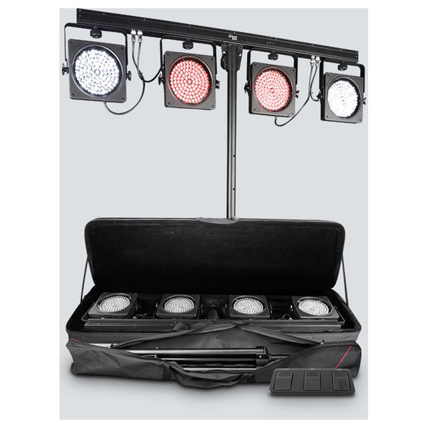 4BAR USB Fixture with carrying case and tripod included