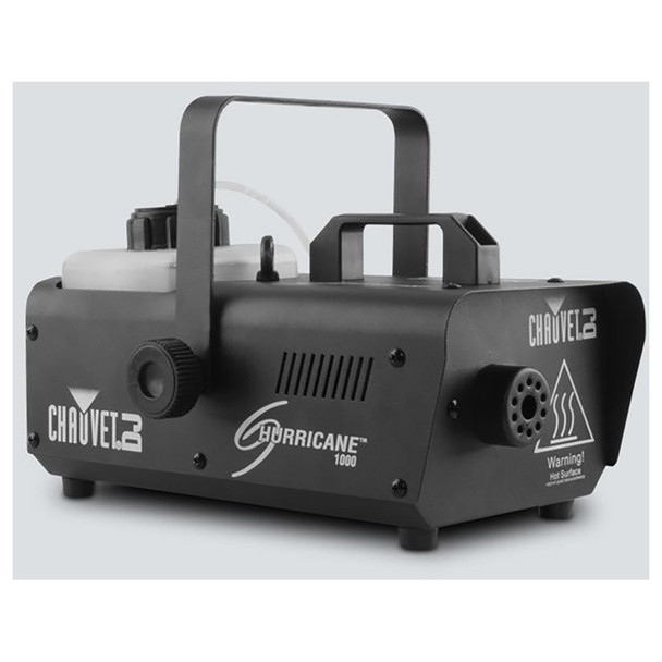 CHAUVET Hurricane 1000 Compact, lightweight fog machine front/left view of machine