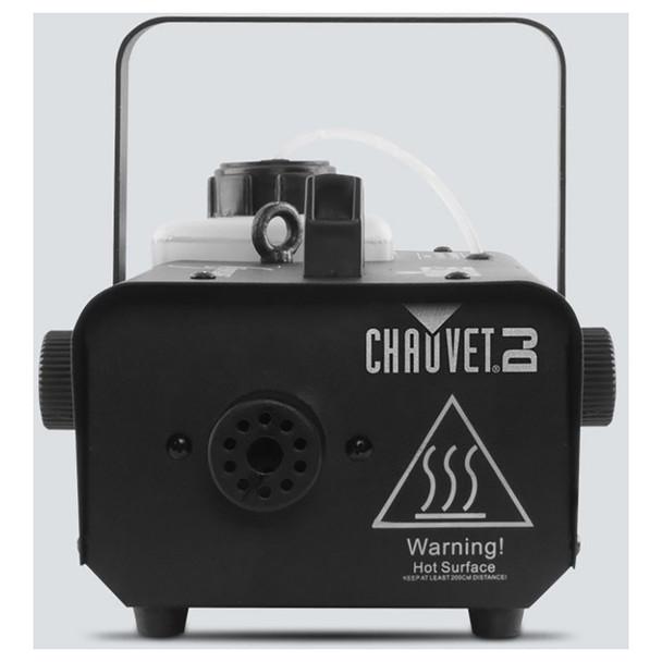 CHAUVET Hurricane 1000 Compact, lightweight fog machine direct front view of machine