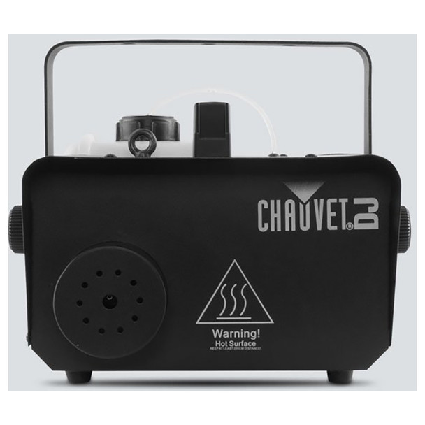CHAUVET Hurricane 1600 Compact, lightweight, high output fog machine with DMX control direct front view