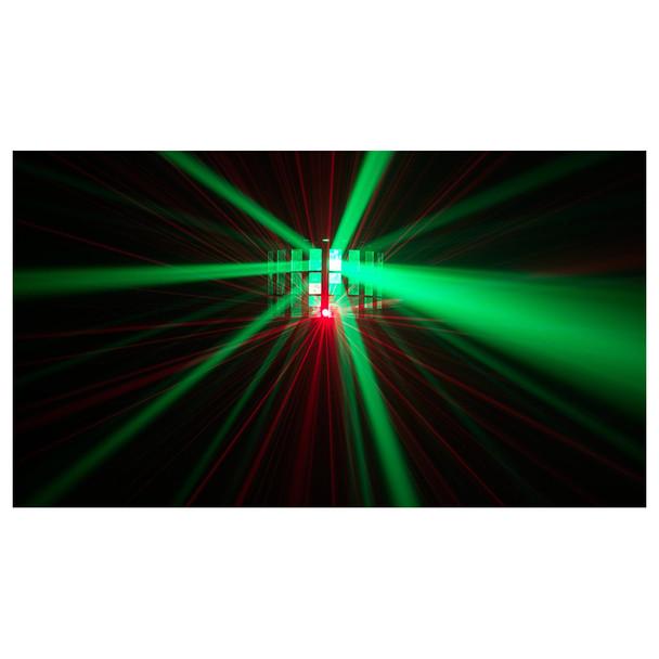 1 individual Kinta FX shining green and red lights