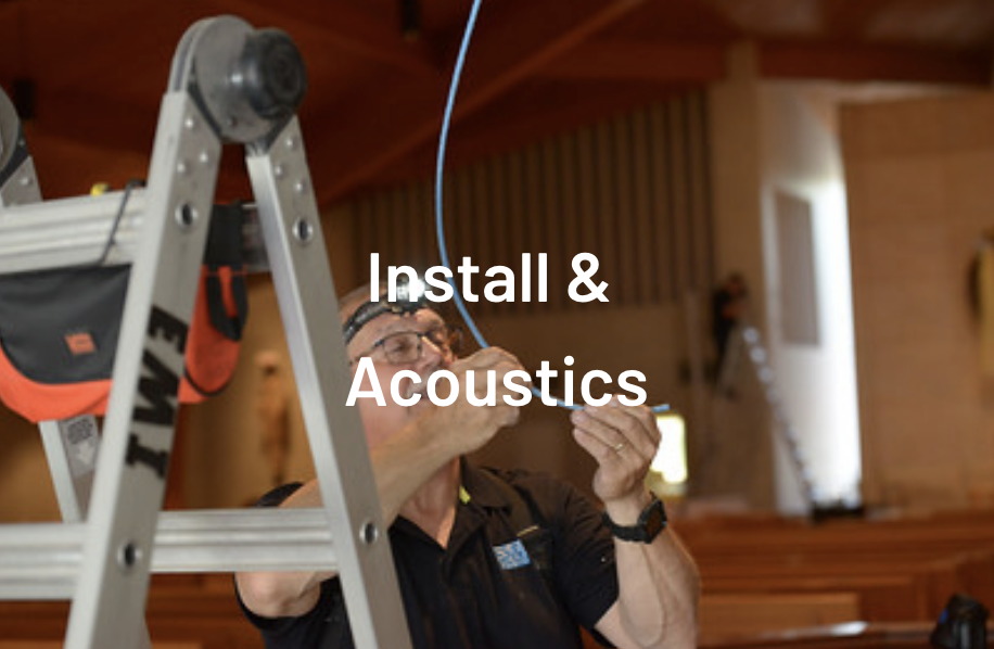 EMI Audio Installation and acoustic department