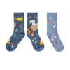 SOXO (With History) Women Space Bunny Socks (2 Pairs)