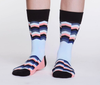 Uptown sock's Electric Chevron Socks