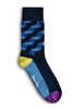 Men's Blue Suit Dress Socks (Pair)