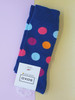 men's spotted socks - colourful gent's socks uk