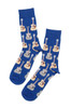 Blue Guitar Socks For Men