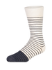Steven White Mens Socks (Pair) - Heroes on Socks