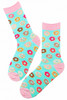 ladies donut socks